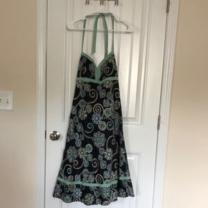 Ann Taylor Loft halter dress